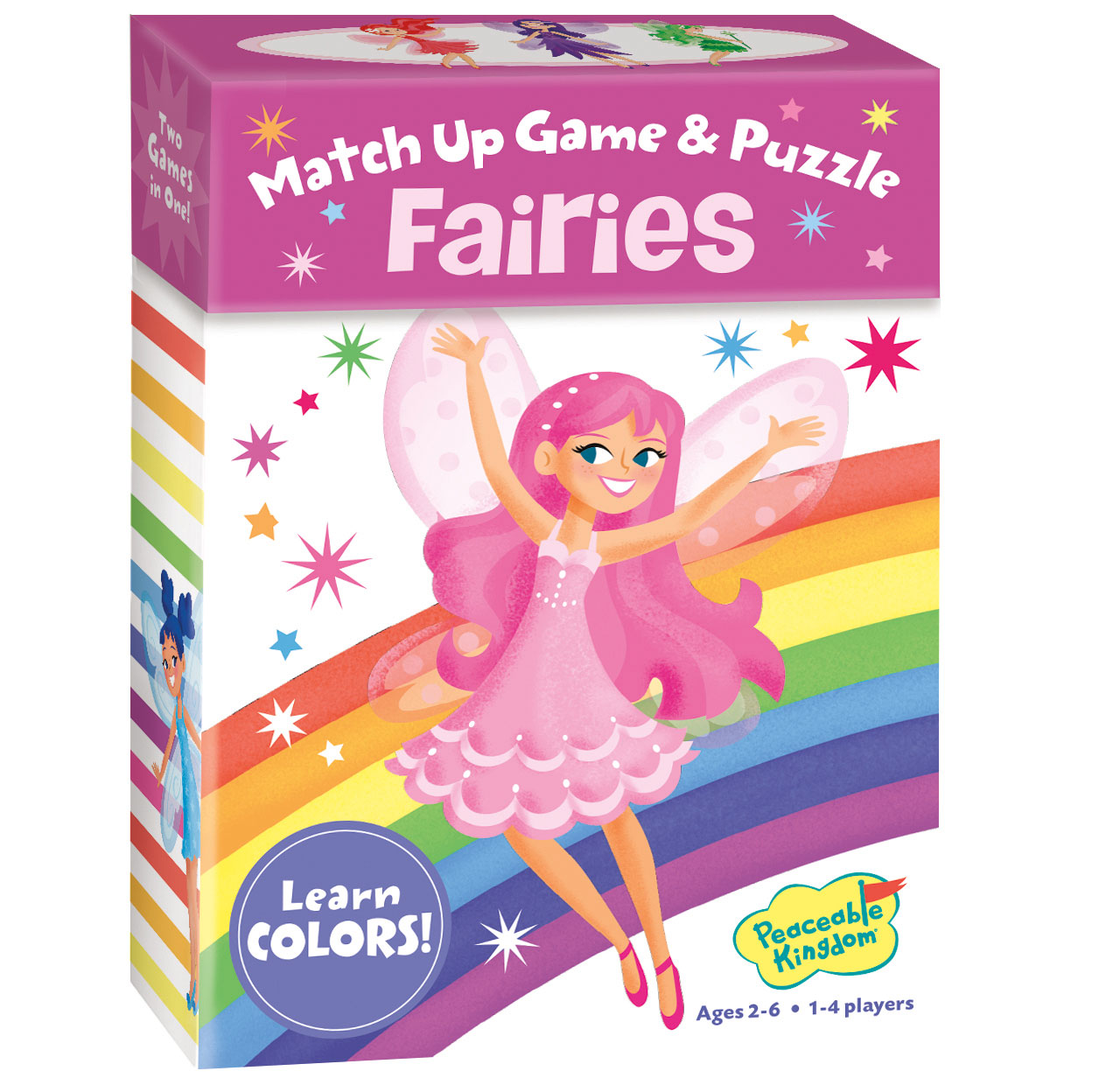 Match Up Game & Puzzle, Fairy - Colors by Peaceable Kingdom