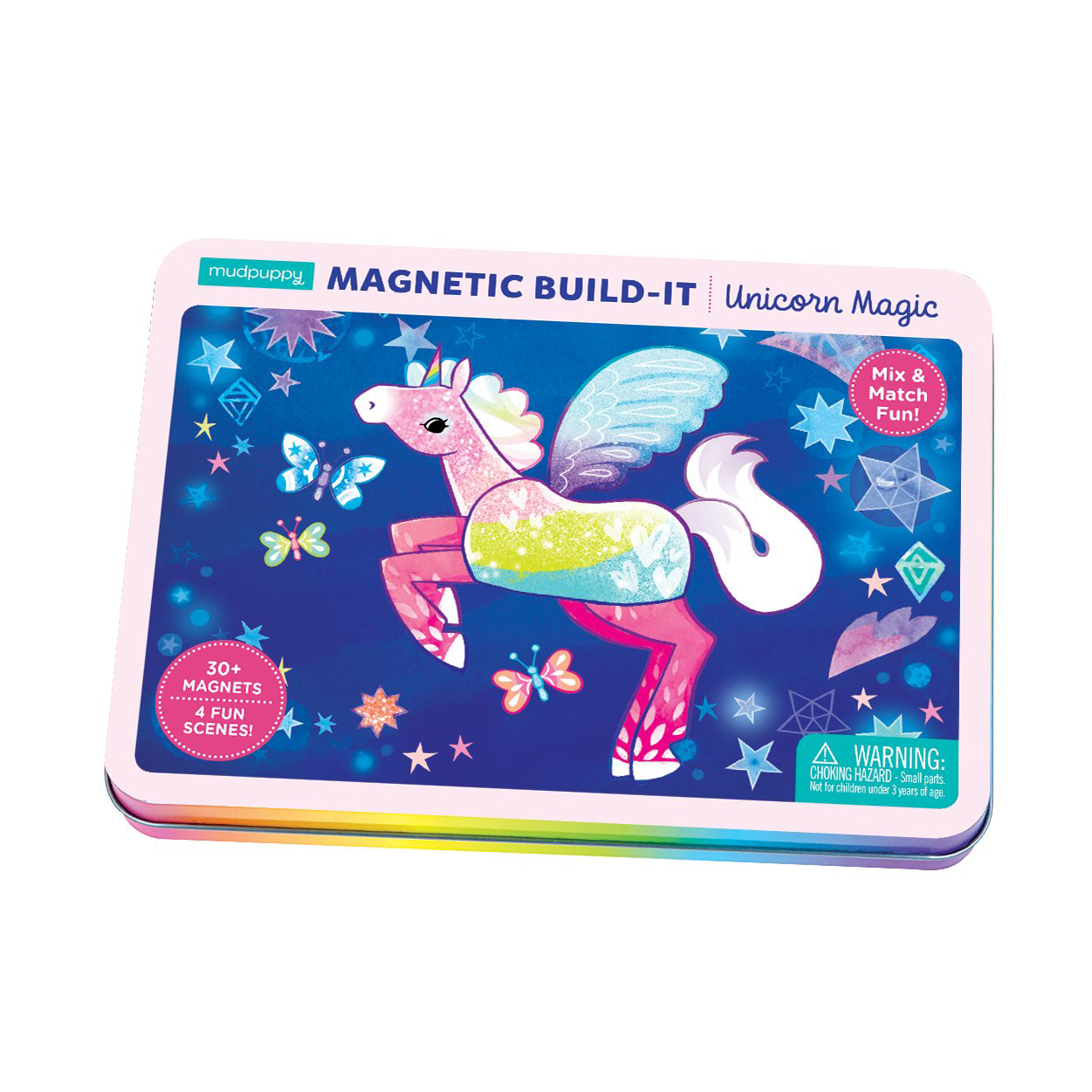 Mudpuppy Magnetic Design play set Unicorn Magic