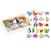 Wooden Magnetic Animals set by Viga Toys
