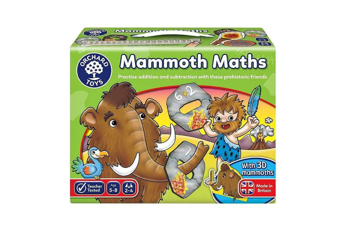 Mammoth Maths by Orchard Toys 5+