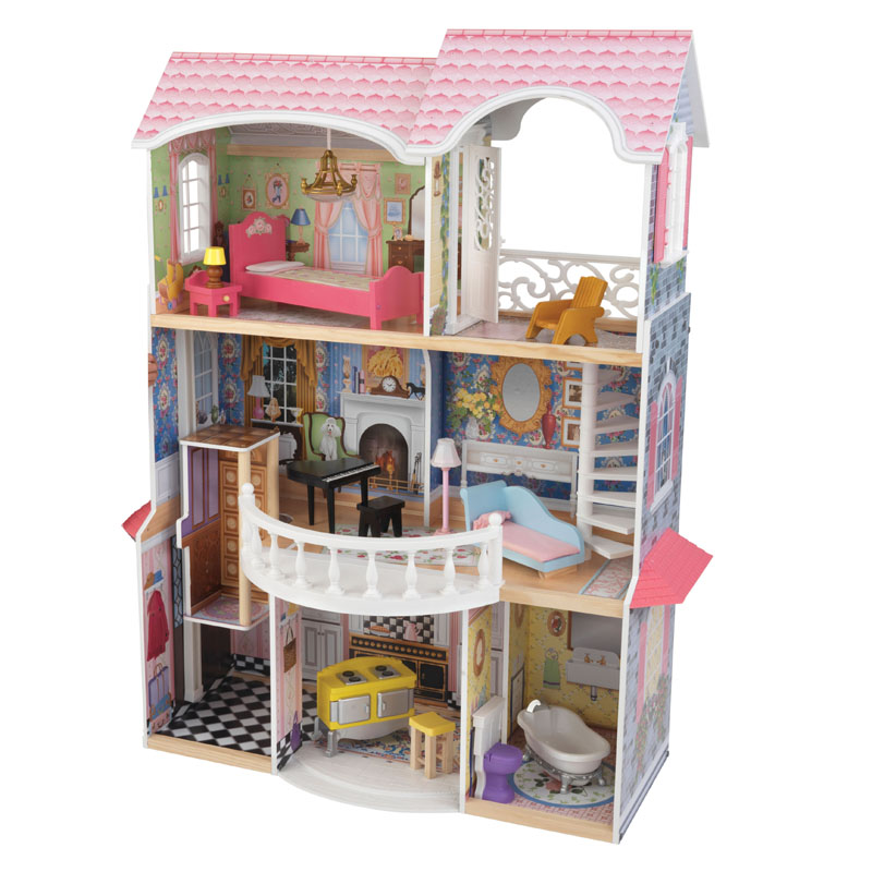 Wooden Magnolia Mansion - Doll House by Kidkraft