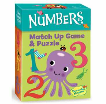 Match Up Game & Puzzle, Learn to count - Numbers by Peaceable Kingdom