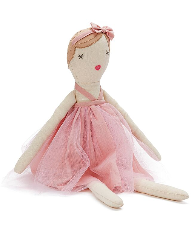 Miss Molly Dolly in Pink ~ Doll by NANA HUCHY