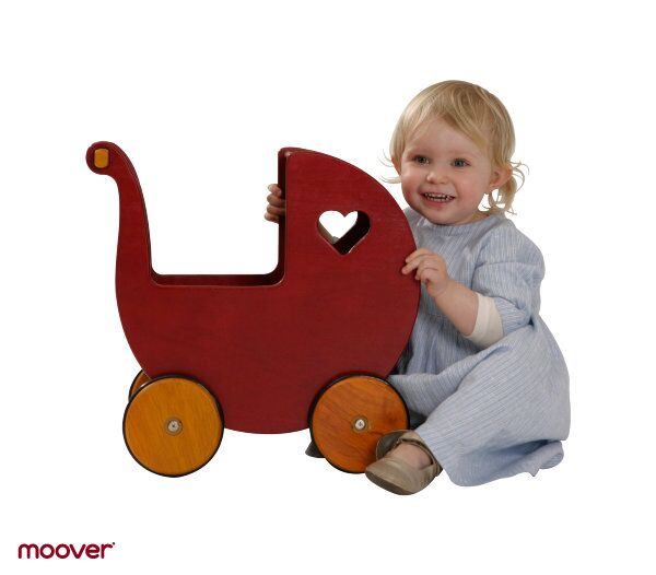 Dolls Pram by moover ~ Red