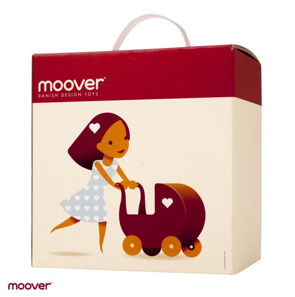 Mini Dolls Pram by moover ~ Natural