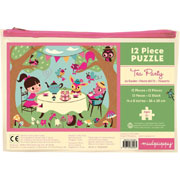 Mudpuppy 12 Piece Puzzle -- Tea Party