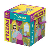 Mudpuppy 42 Piece Puzzle -- Princess