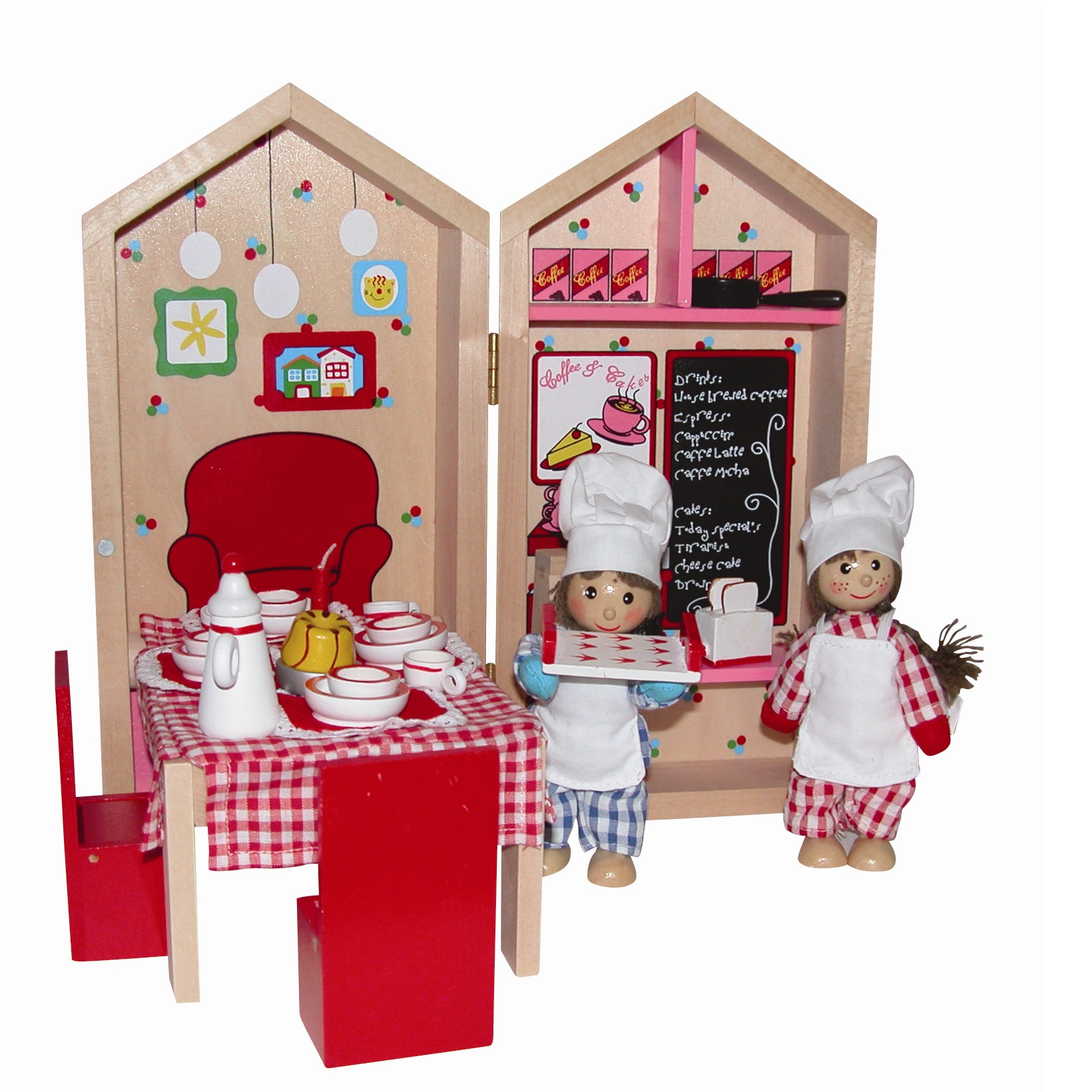Doll Set - My Cafe Busy Box by Cronwick Toys