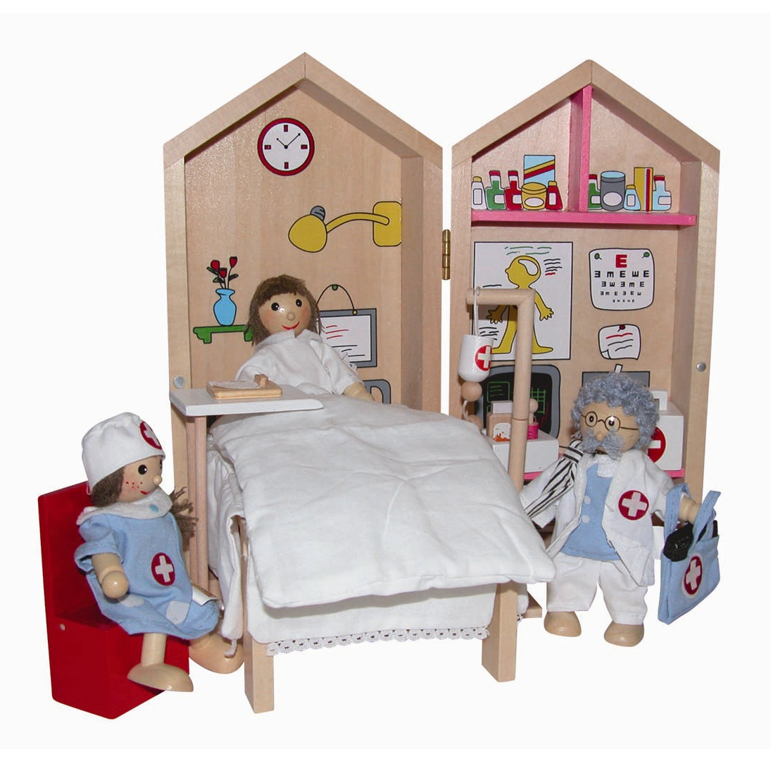 Doll Set - My Hospital Busy Box ~~ Doctor's Set