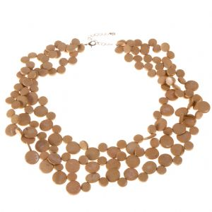 Sand 3 Strand Necklace by Cool Coconut