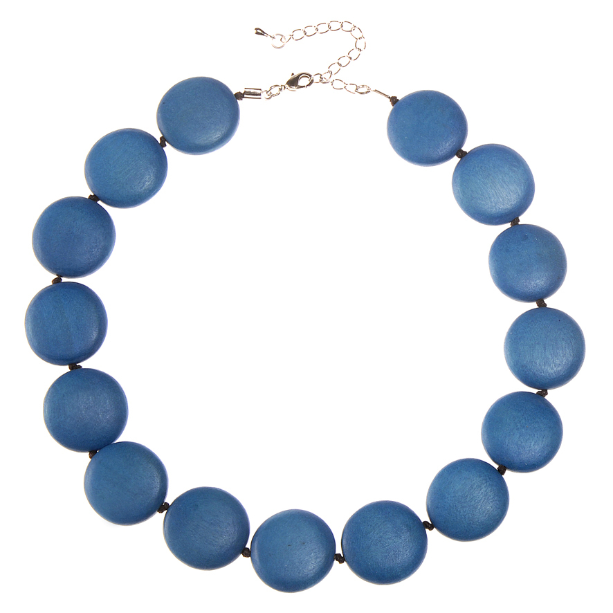 Byron Blue Lucy Short Necklace by Cool Coconut