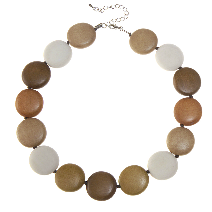 Naturals Combination Lucy Short Necklace by Cool Coconut