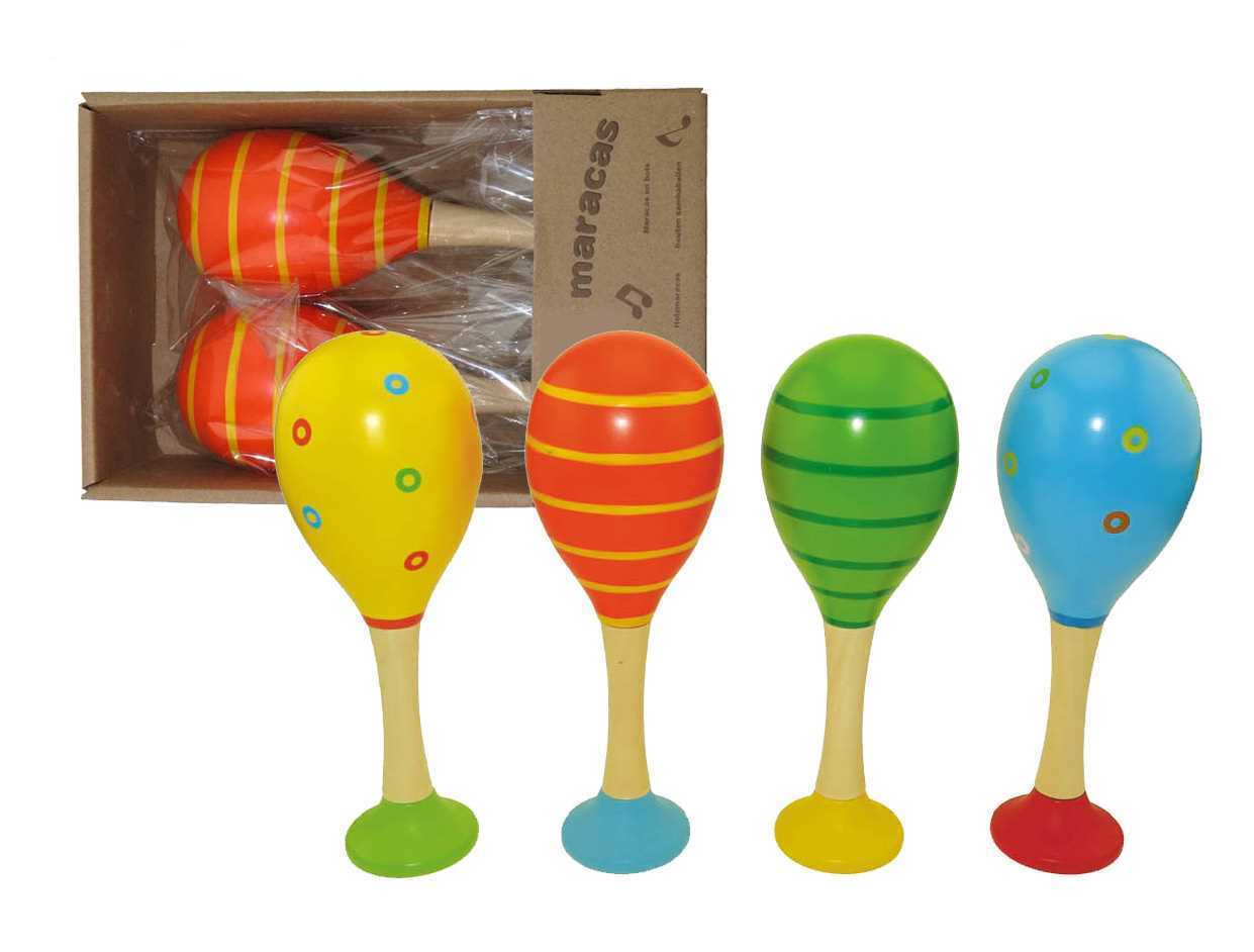 Kaper Kids ~ Maracas with Base ~ Musical Instruments 0+