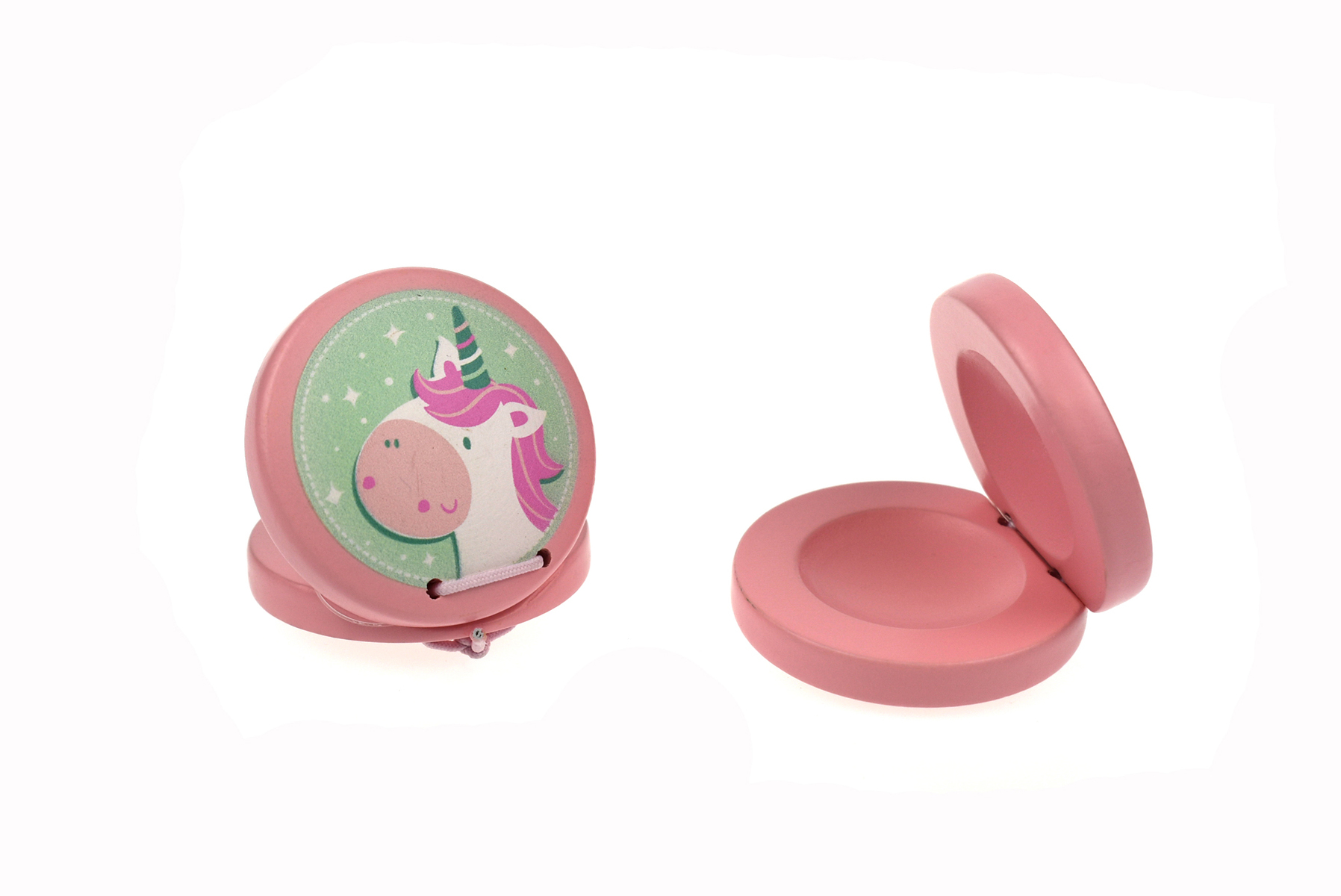 Unicorn wooden castanet by Kaper Kids 3+