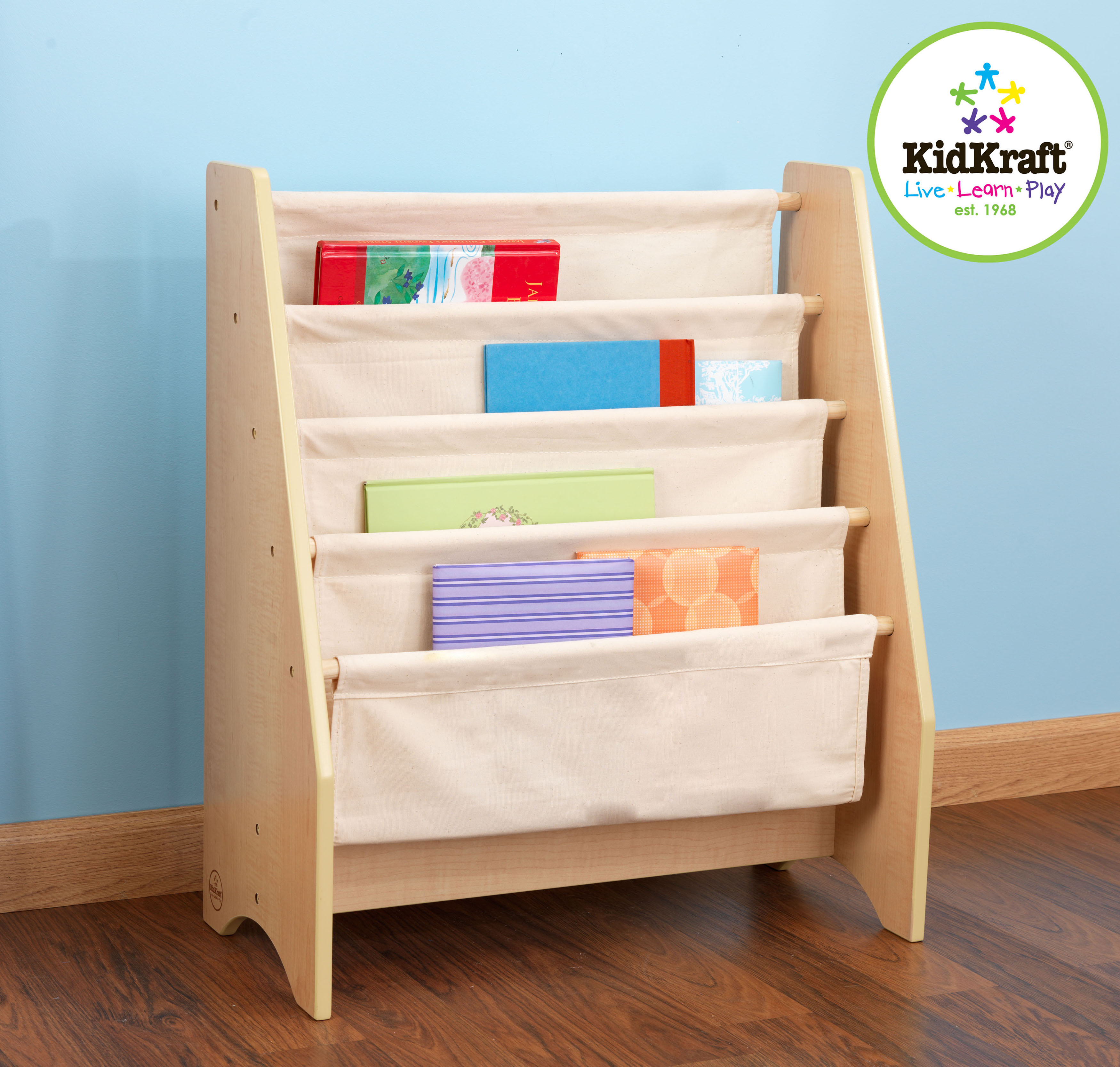 Sling Book Shelf in Natural Colours by Kidkraft