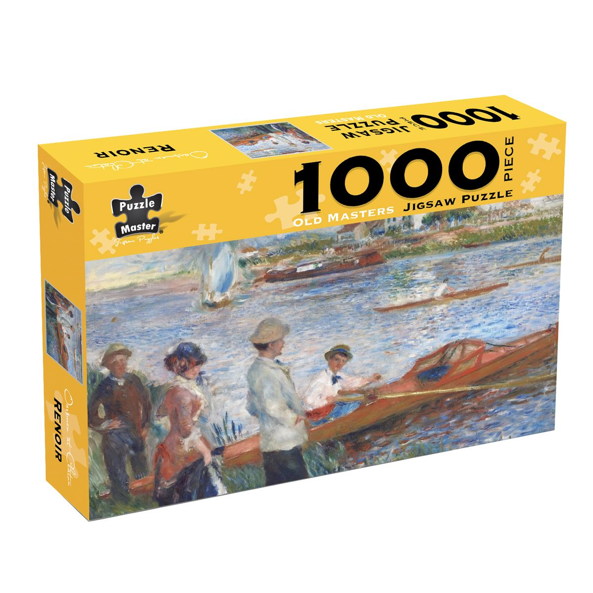 Puzzlers World ~ Old Master 1000pc Jigsaw Puzzle ~ Oarsman at Chatou by Renoir