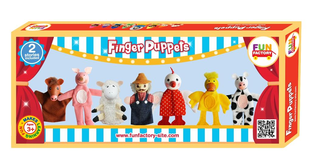 Finger puppets - Old MacDonald ~ Fun Factory