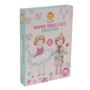 Paper Dolls Kit - Vintage by Tiger Tribe 5+