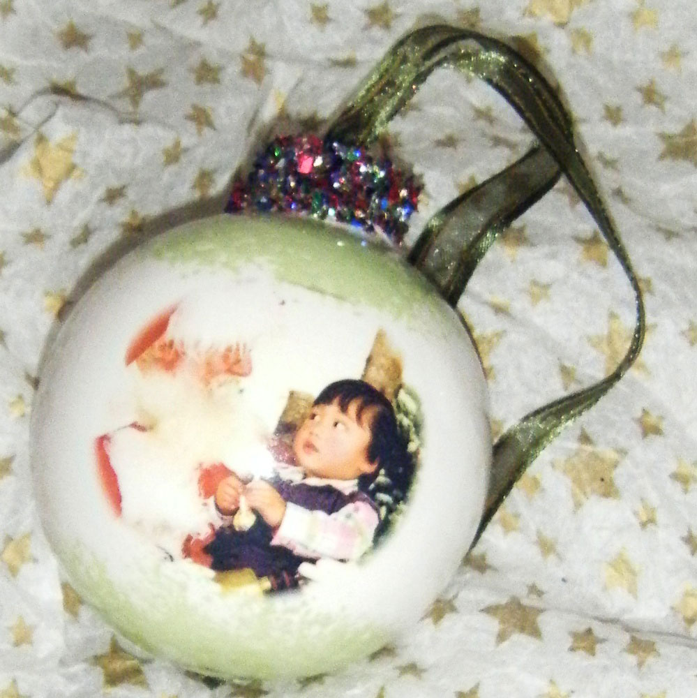 Personalised Kids Bauble