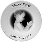 Personalised Photo Porcelain Plate ~ Keepsake for all occasions