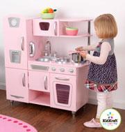 Wooden Retro Pink Vintage Kitchen by Kidkraft