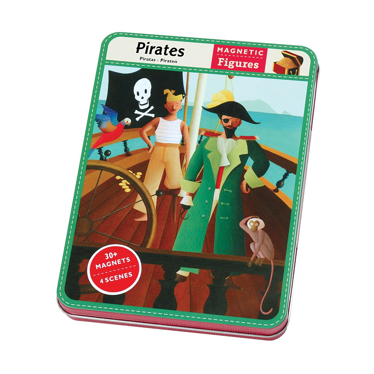 Mudpuppy Magnetic Design play set Pirates