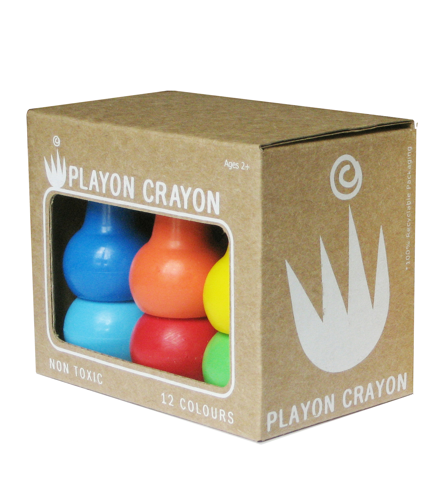 PLAYON CRAYON - Primary colours - set 12