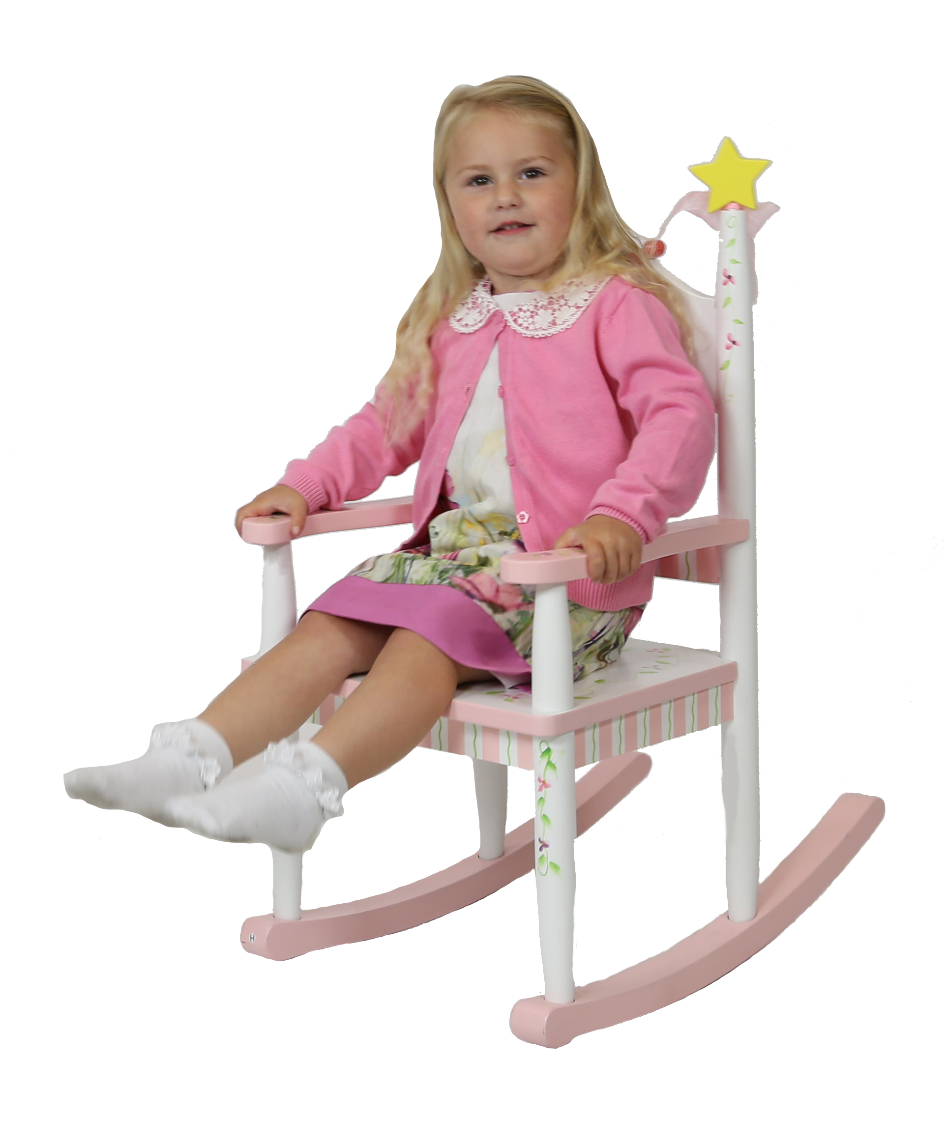 Princess & Frog Rocking Chair by Teamson