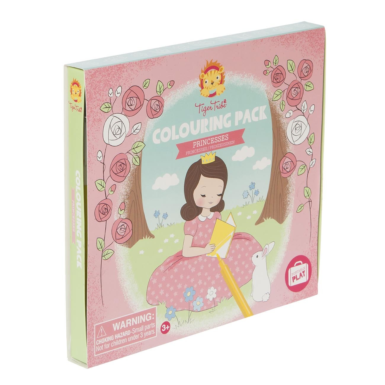 Colouring Pack with a Princesses Theme by Tiger Tribe
