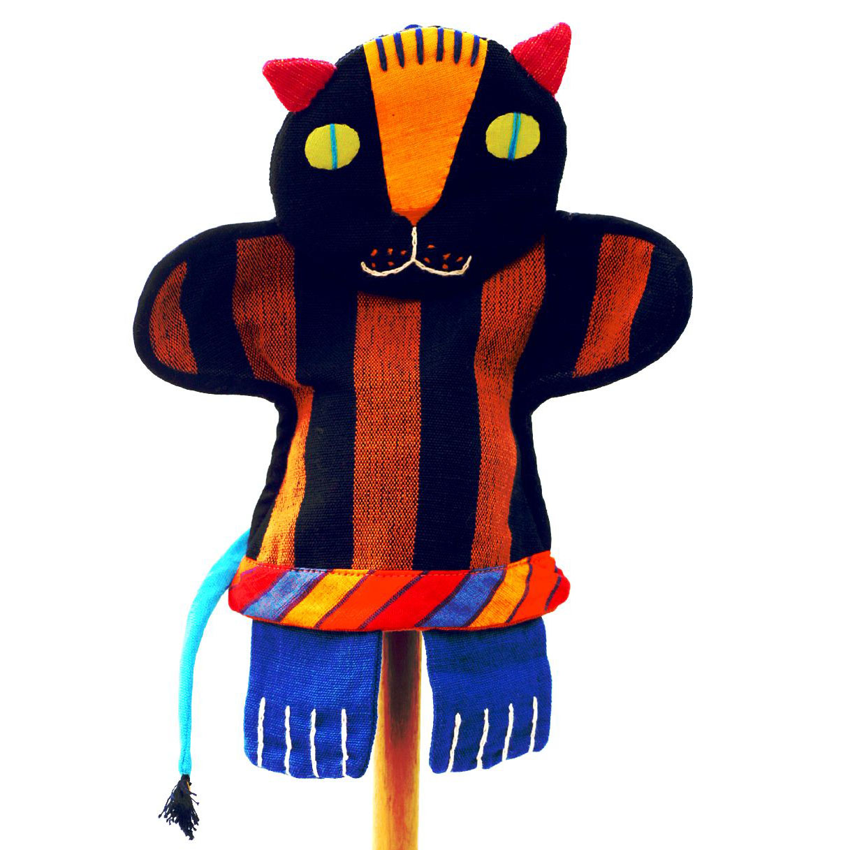 Tiger hand puppet by Barefoot