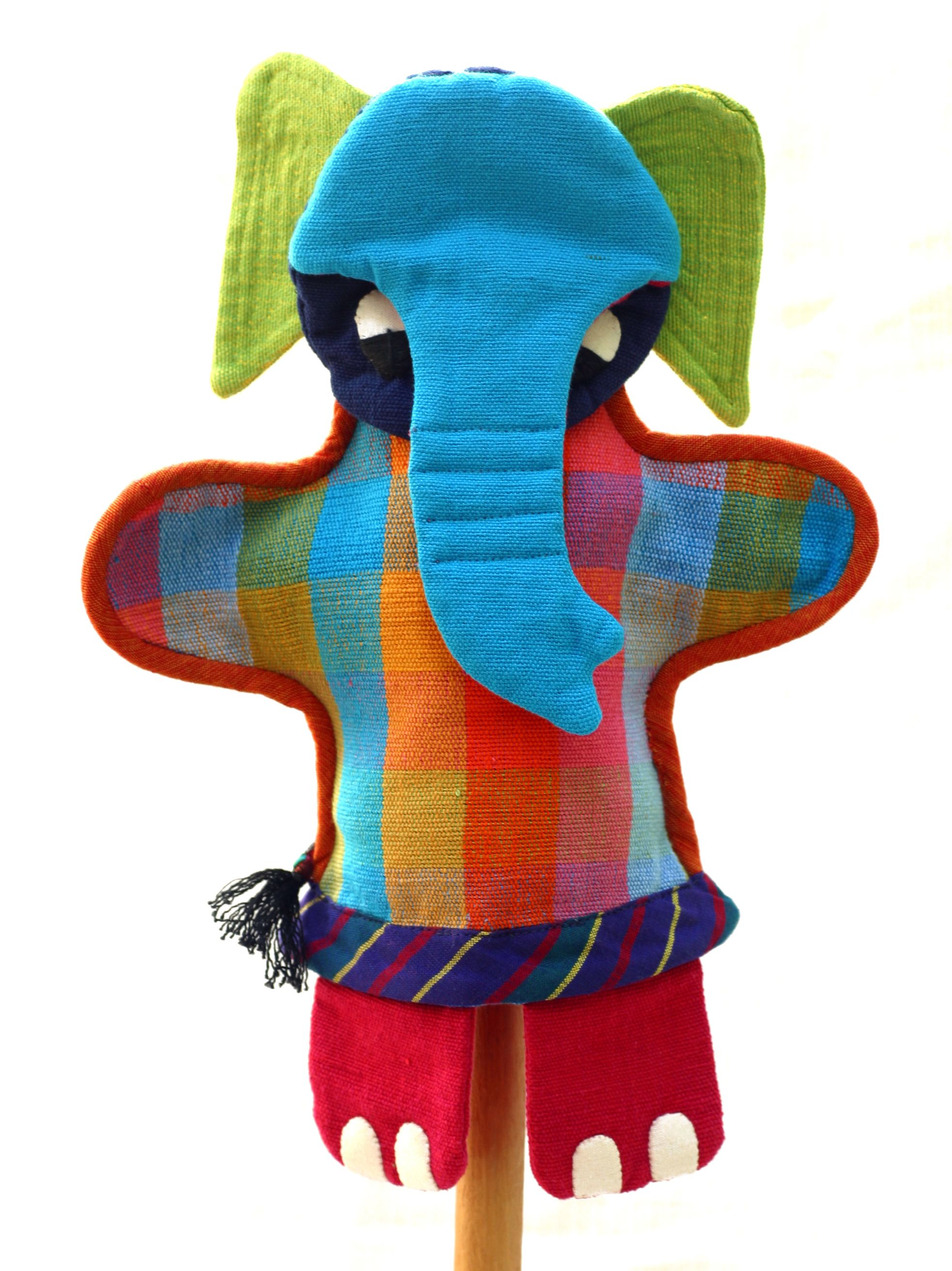Elephant hand puppet by Barefoot