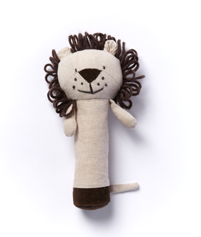 Levi The Lion Baby Rattle by NANA HUCHY