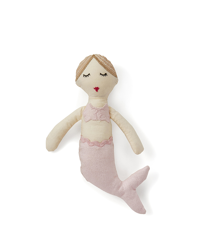 Milla The Mermaid Baby Rattle by NANA HUCHY
