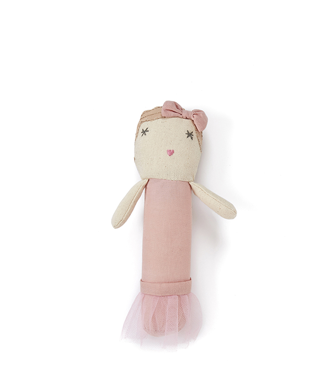 Molly Dolly Baby Rattle by NANA HUCHY