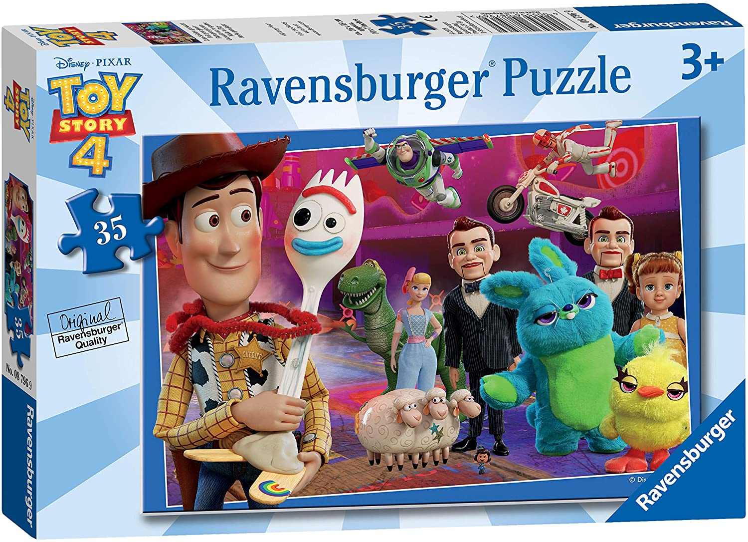 Ravensburger Toy Story 4 ~ Made to play Puzzle 35 pc 3+