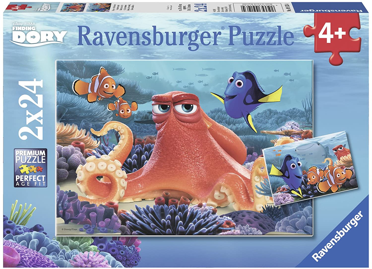 Ravensburger Disney Finding Dory Puzzle 2 x 24 pc 4+