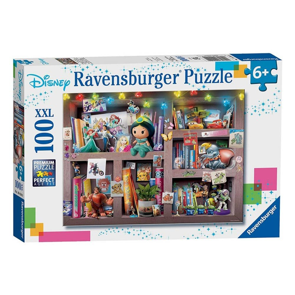 Ravensburger - Disney The Collector's Display 100pcs Puzzle 6+