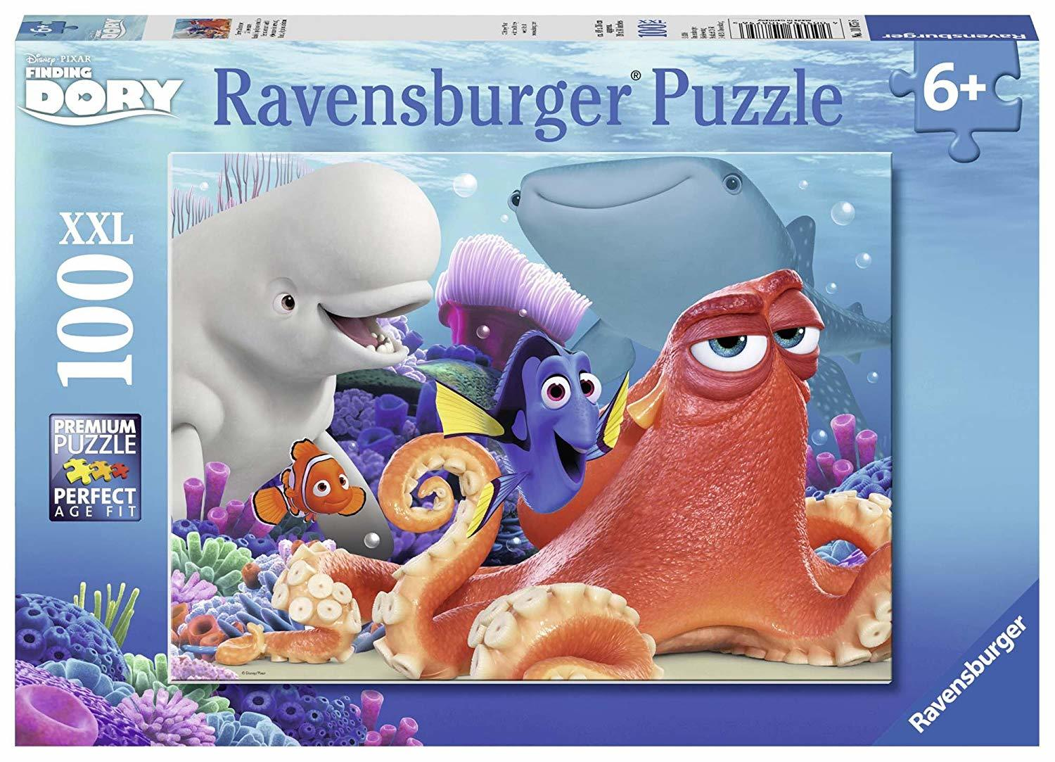 Ravensburger Adventure is brewing ~ Disney Finding Dory 100 pc Puzzle 6+