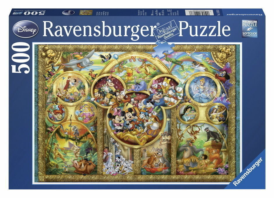 Ravensburger - Disney Family Puzzle 500pc