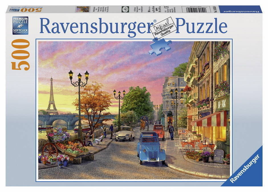 Ravensburger - A Paris Evening Puzzle 500pc