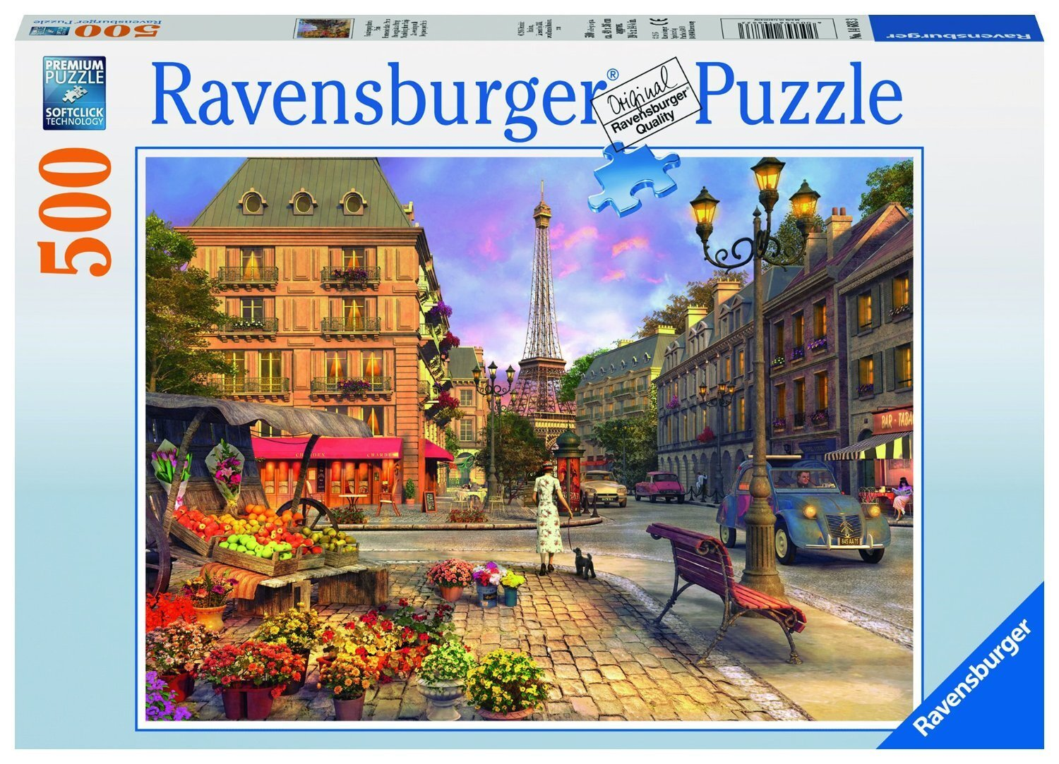 Ravensburger - A walk through Paris Puzzle 500pc