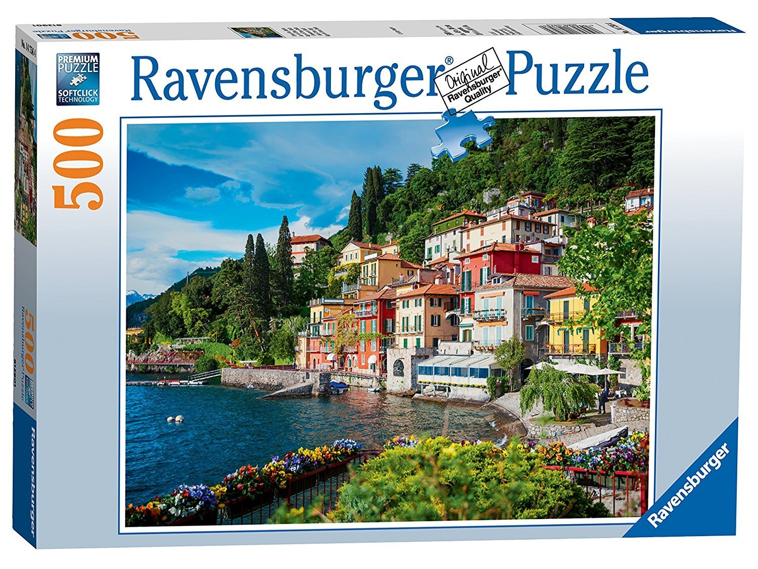 Ravensburger - Lake Como Puzzle 500pc