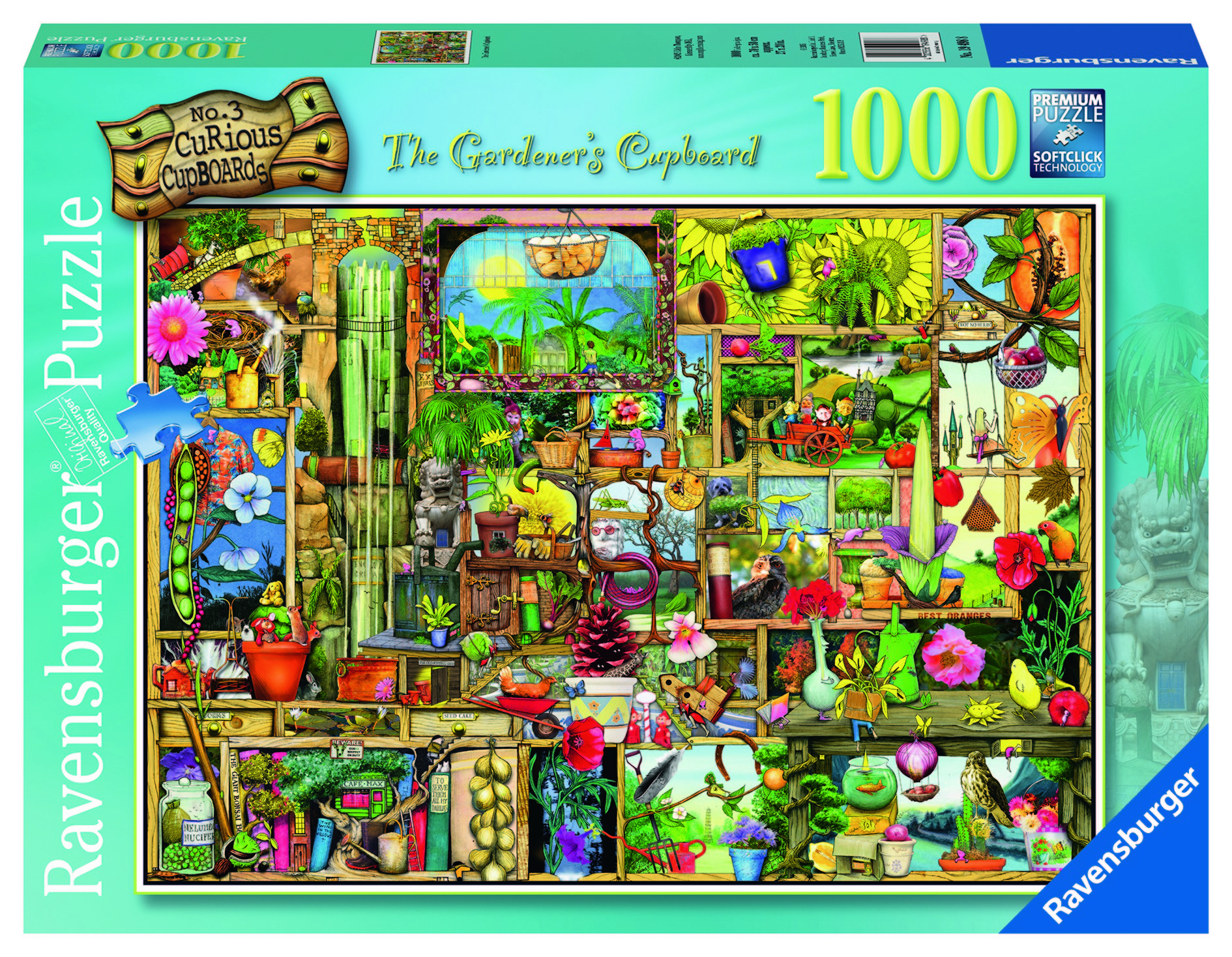 Ravensburger Colin Thompson - The Collector's Cupboard Jigsaw Puzzle 1000pc