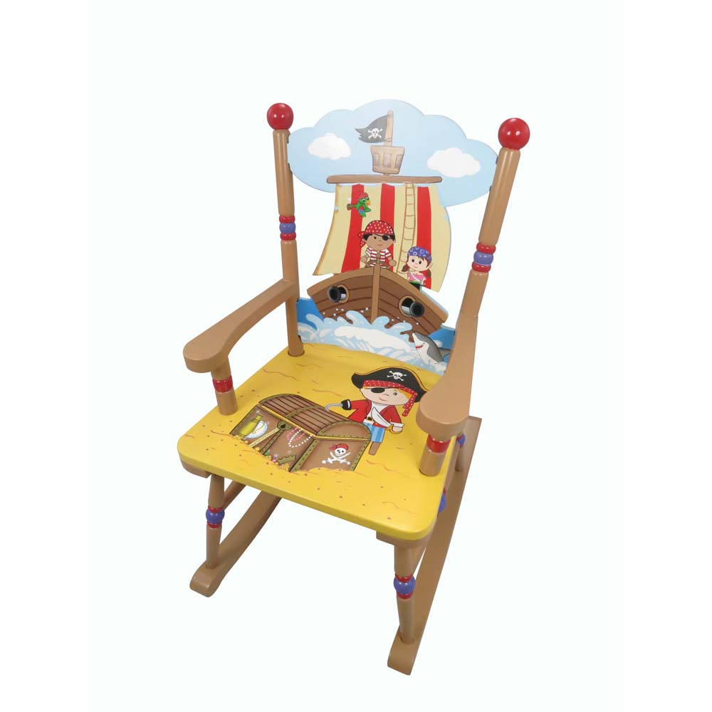 Pirate rocking chair by Teamson