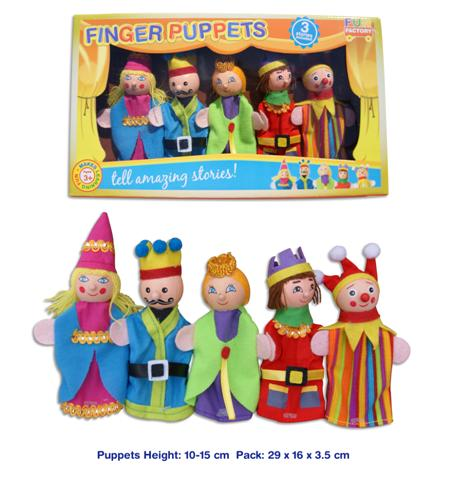 Finger puppets - Royal Theme ~ Fun Factory