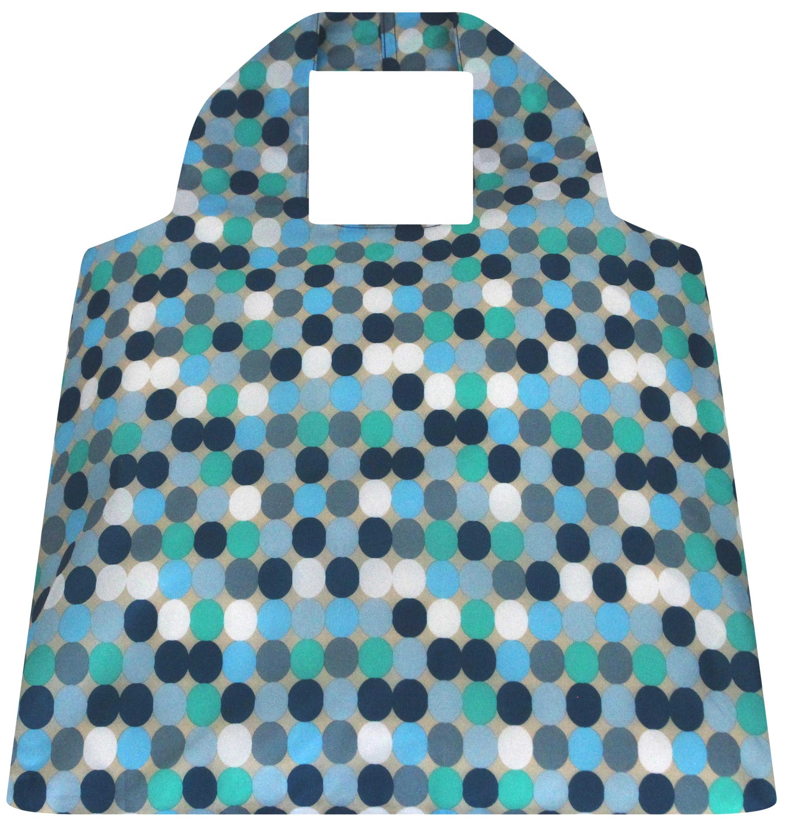 SAKitToMe ~ Blue Spots Design ~ Compact Bag by Envirotrend