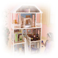 Lets play with Doll Houses & Dolls by Kidkraft