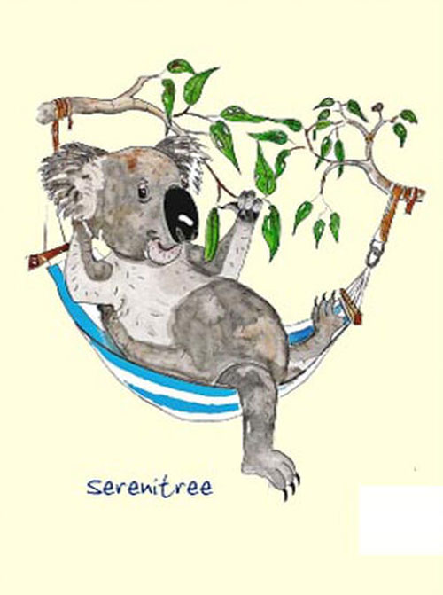 Australian Greeting Card ~ Sereni Tree