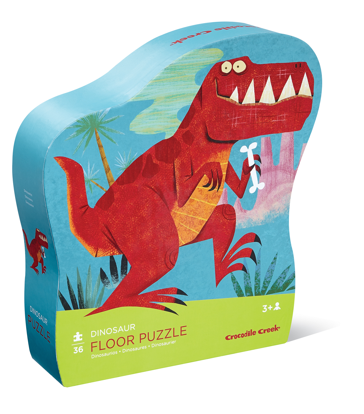 Classic Floor Puzzle 36 pc - Dinosaur by Crocodile Creek 3 +