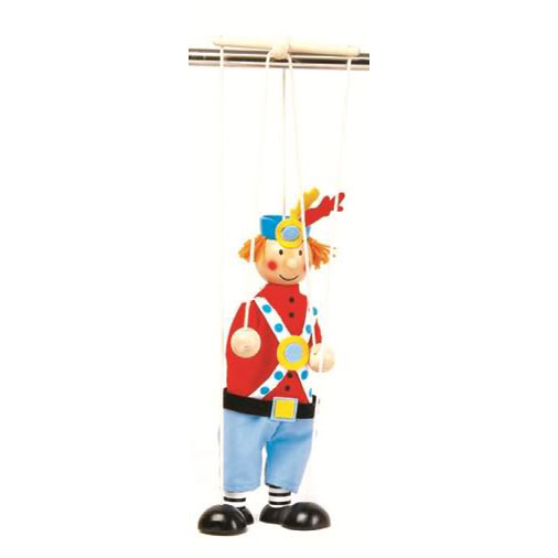 Soldier String puppet ~ Marionette ~ puppetry ~ pretend play